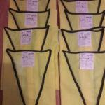 Four Large Four Extra large sleeveless waistcoats