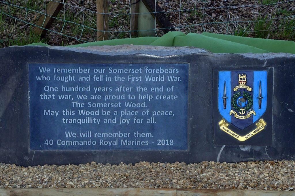 40 Commando Dedication Stone 2.11.2020