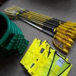 8 sets of litter picking equipment Sept 2020