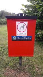 a. Waterleaze Canal Dog Bin new
