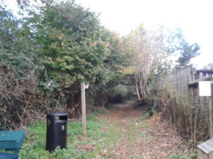 d. Cheddon Lawns Waste Bin new